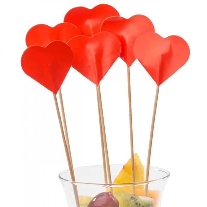 Drinkpinnar Hjärta, 50 st