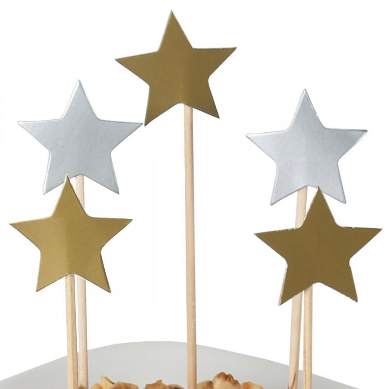 Cocktailpinnar Stjärnor, 40 st
