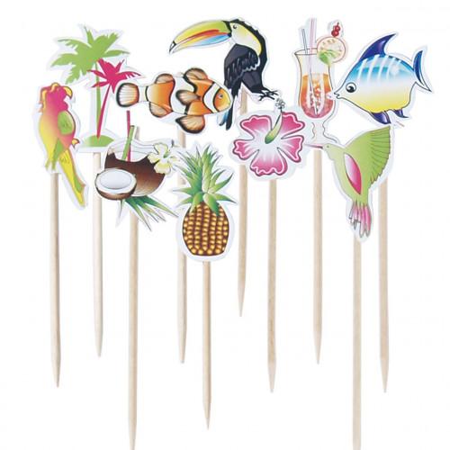 Cocktailpinnar Karibien, 10 st