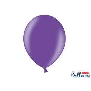 PartyDeco Ballonger Lila Metallic