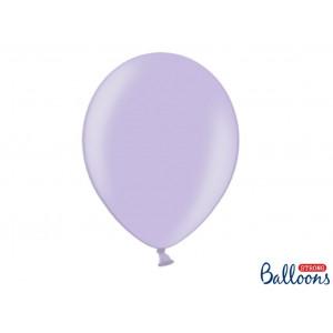 PartyDeco Ballonger Ljuslila Metallic