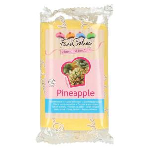 FunCakes Sockerpasta Smaksatt Ananas, gul