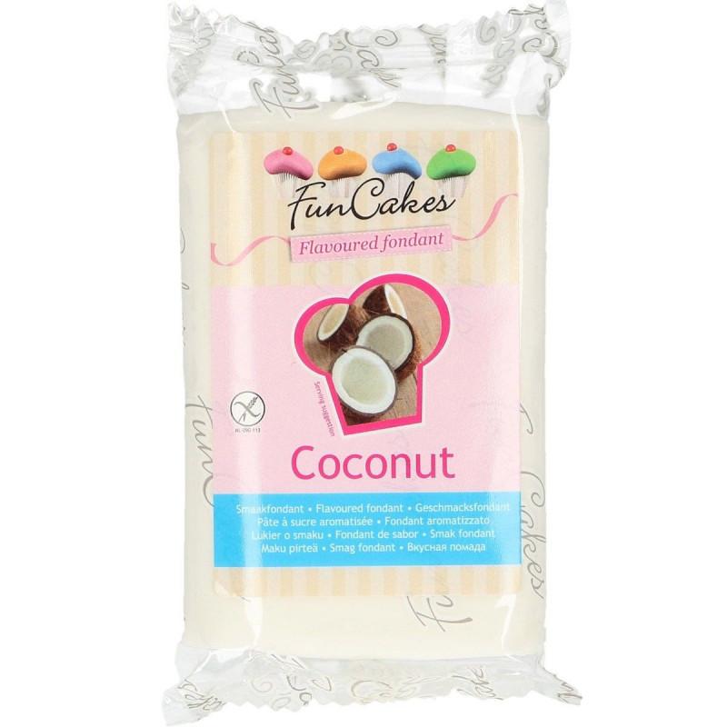 FunCakes Sockerpasta Smaksatt Kokos, vit