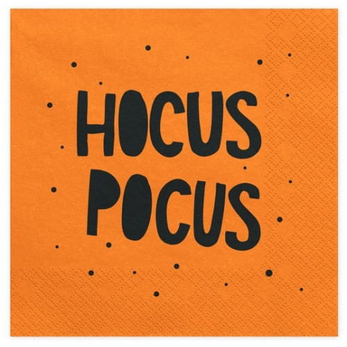 PartyDeco Servetter Hocus Pocus / Trick or treat