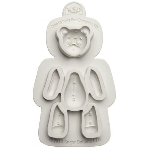 Katy Sue Designs Silikonform Teddybjörn
