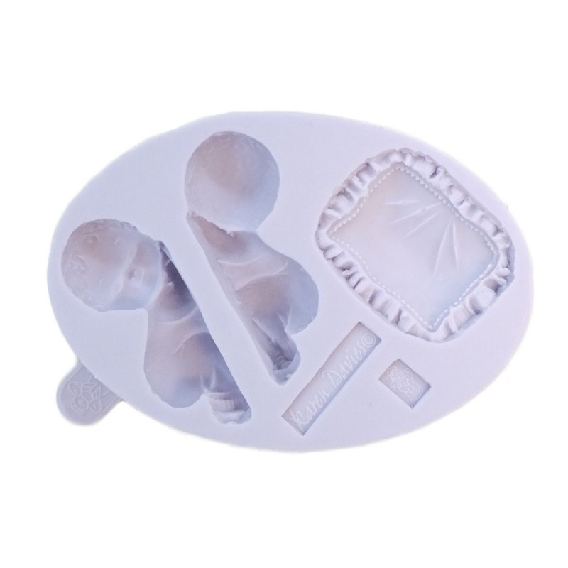 Silikonform Sleeping baby mould - Karen Davies