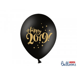 PartyDeco Ballonger Happy 2019