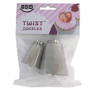 JEM Twist Twist Tyll, 2 st, 20T & 21T