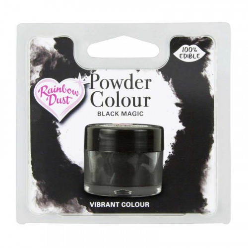 Rainbow Dust Pulverfärg Black Magic