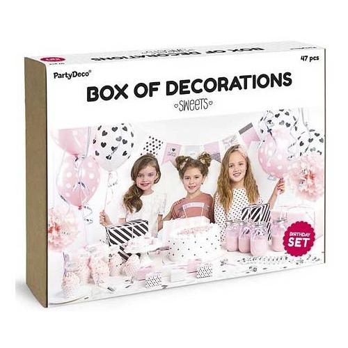 PartyDeco Dekorationsset, Sweets
