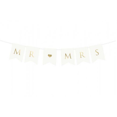 PartyDeco Girlang, Mr Mrs