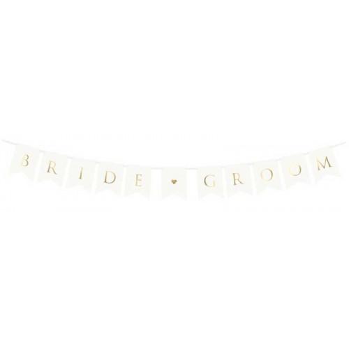 PartyDeco Girlang, Bride Groom