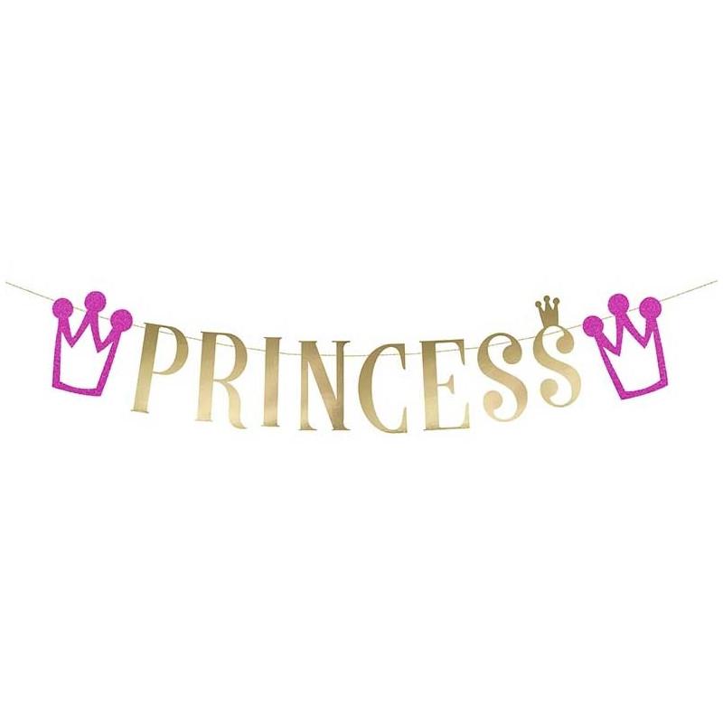 PartyDeco Girlang, Princess
