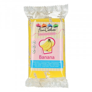 FunCakes Sockerpasta Smaksatt, Banan