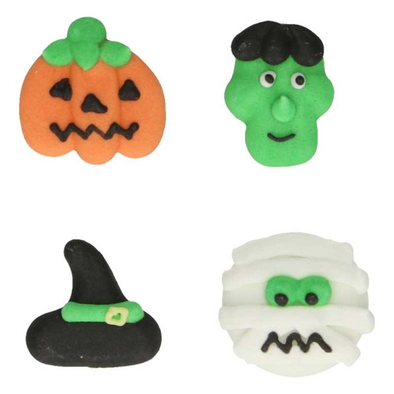 FunCakes Sockerdekorationer Halloween