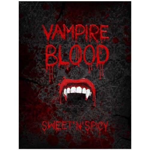 PartyDeco Etikett för flaskor, Vampire Blood