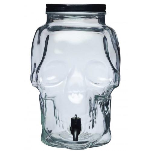 Spookily Does It, Skull Drink Dispenser 9 liter