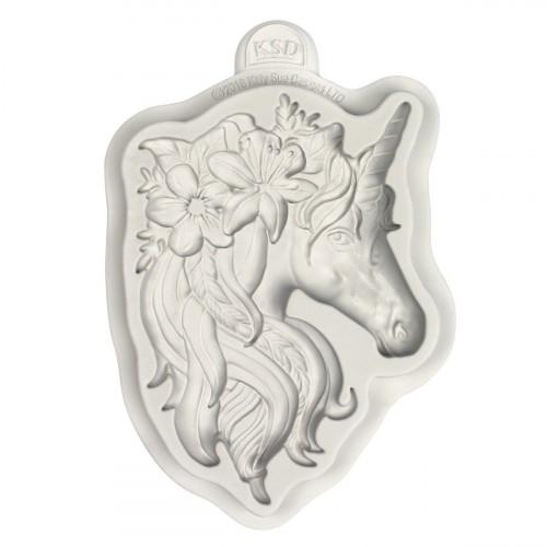 Katy Sue Designs Silikonform Unicorn, Enhörning