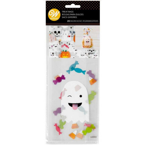 Wilton Godispåsar Emoji Ghost, 20 st