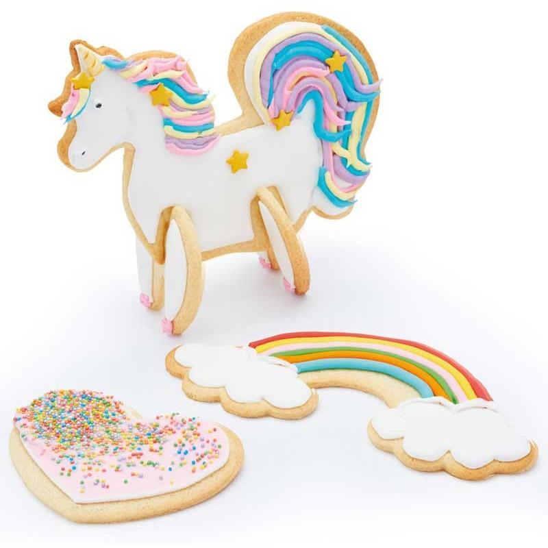 Kitchen Craft Utstickare 3D Unicorn set