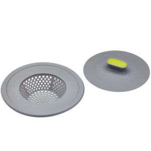 Kitchen Craft 2-in-1 Diskpropp med sil