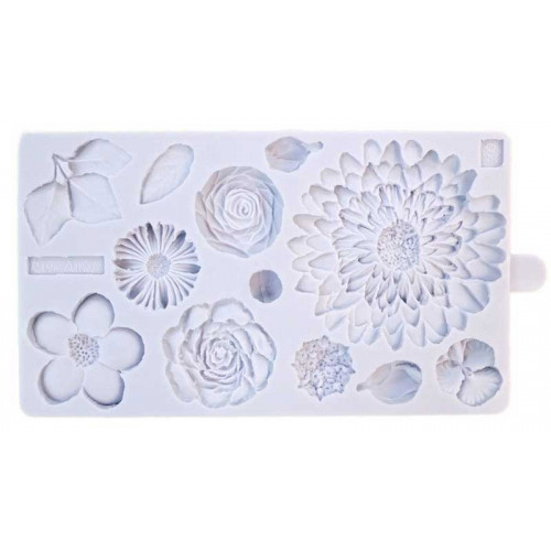 Karen Davies Silikonform - Buttercream Flowers