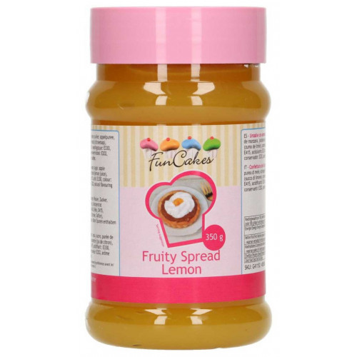 FunCakes Fruity Spread, citron, 350g