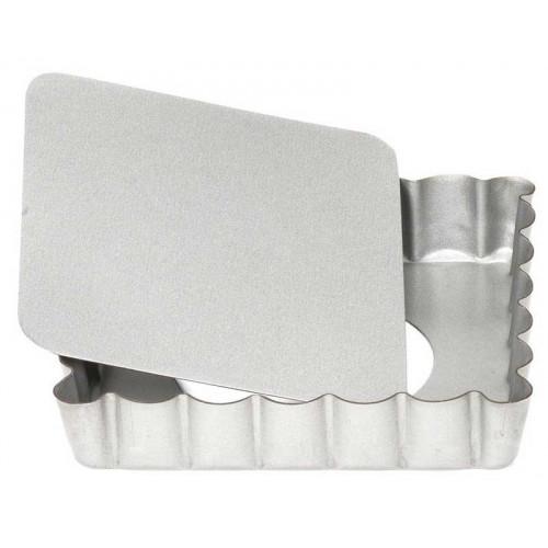 Patisse Mini Tartelettform Fyrkantig, 10 cm