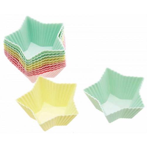 Kitchen Craft Minimuffinsformar Stjärnform i silikon