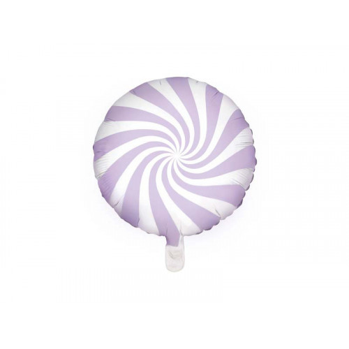 PartyDeco Folieballong LjusLila