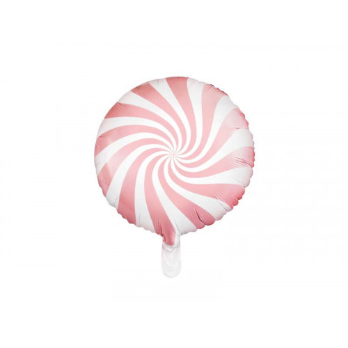 PartyDeco Folieballong LjusRosa