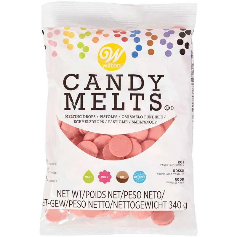 Wilton Candy Melts Röd