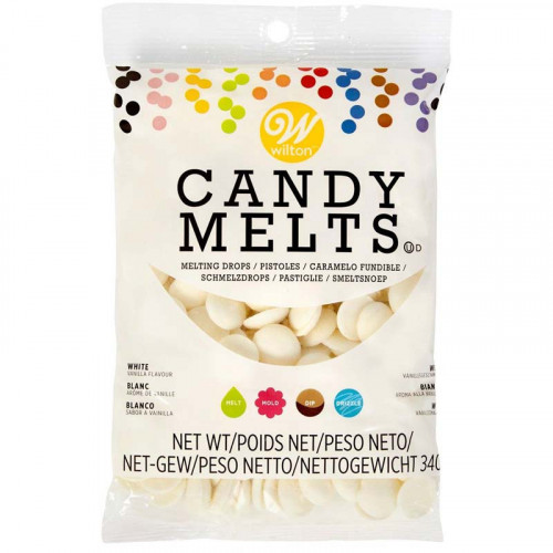 Wilton Candy Melts Naturvit, vanilj