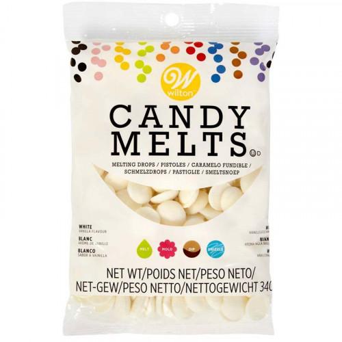 Wilton Candy Melts Naturvit, vanilj