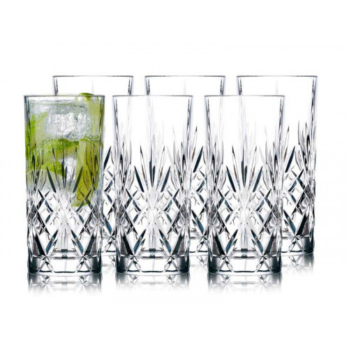 Lyngby Melodia Drinkglas 6st