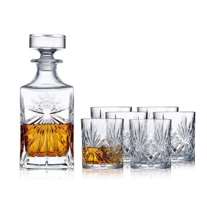 Whiskeyset från Lyngby Melodi i 7 delar