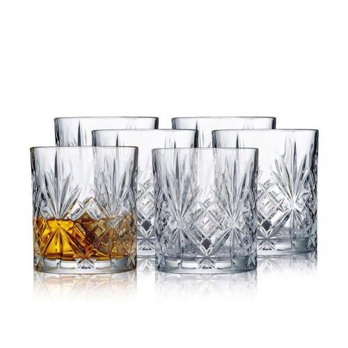Lyngby Krystal Melodia Whiskyglas 6 st