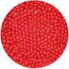 FunCakes Strössel sockerpärlor Röd, 4 mm