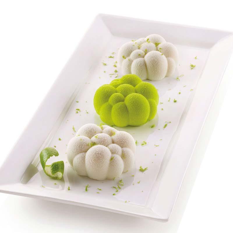 Silikomart 3D Form, Minibubblor, 6 st