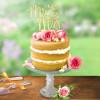 PME Utstickare, Cake Topper, Mr & Mrs