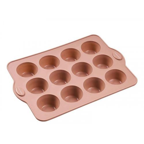 Blomsterbergs Muffinsform, Rosa, 12 hål