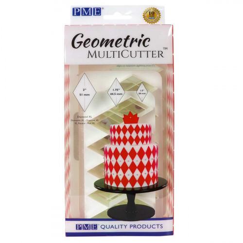 PME Utstickare Multicutter, Diamant XL, set, 3 st