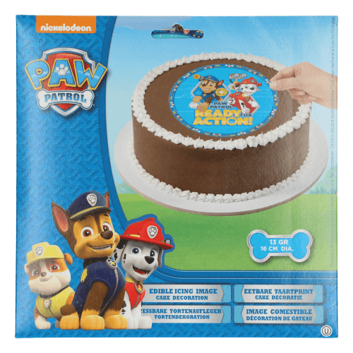 Oblat Tårtbild Paw Patrol