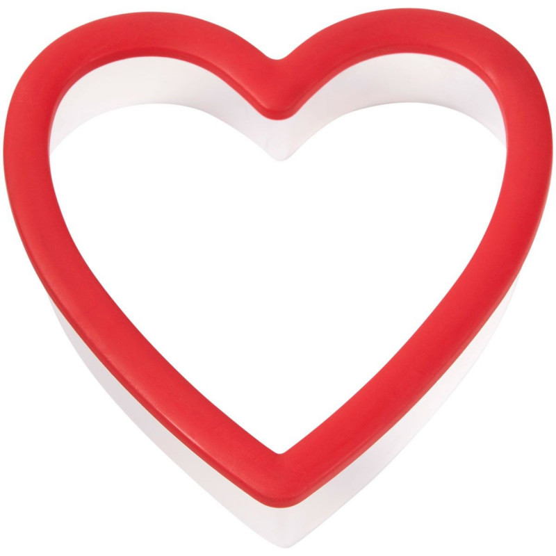 Wilton Utstickare Hjärta, plast