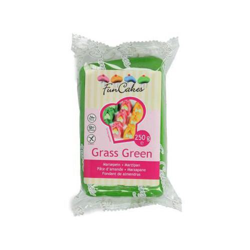 FunCakes Marsipan Grass Green, grön