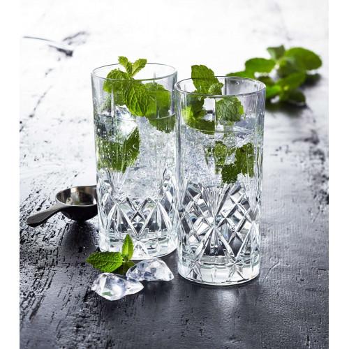 Lyngby Melodia Drinkglas 6st