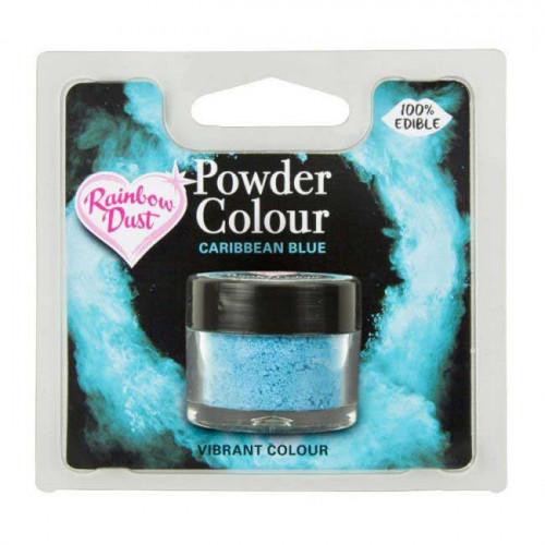 Rainbow Dust Pulverfärg Caribbean Blue