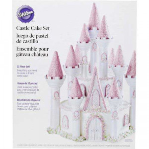 Wilton Castle Cake set, slott