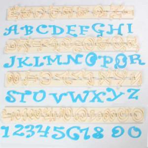 Utstickare Bokstäver & siffror, Chunky Funky