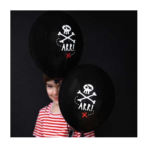 PartyDeco Ballonger Pirat Party